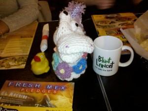 Duck. Unicorn. Blunt Lancet.