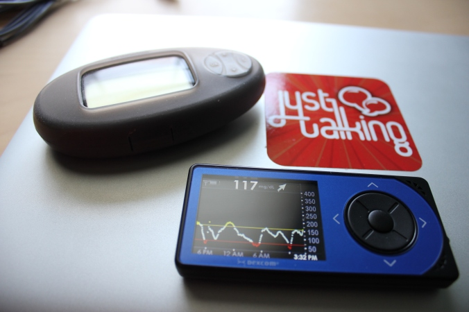 We'll just ignore the part where the graph said 160 but my actual #bgnow was 117 :)